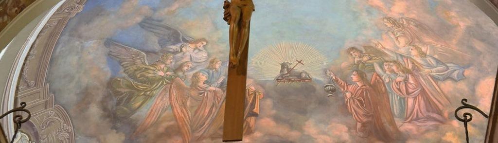 San Martino - Dettaglio dell'Affresco
